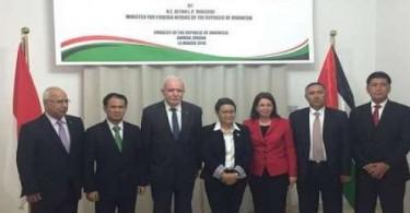 Dilarang Masuk Palestina oleh Zionis, Menlu Retno Lantik Konsul Kehormatan di Yordania