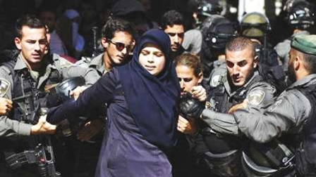 Aparat Keamanan Zionis Tangkap Tiga Gadis Palestina